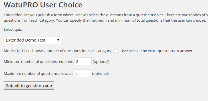 user-choice