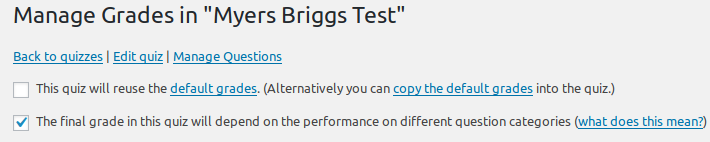 graphic relating to Myers Briggs Printable Test called watupro CalendarScripts Weblog
